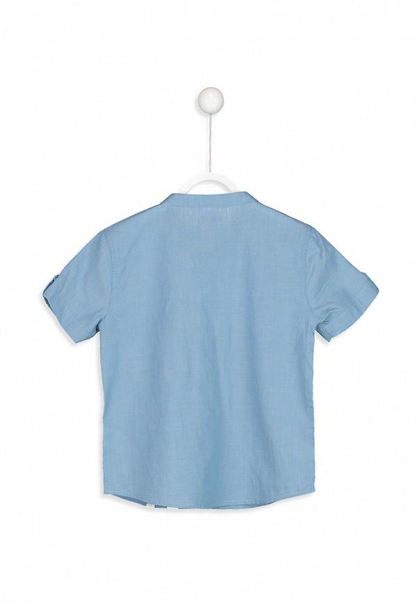 Рубашка для мальчика джинсовая LC Waikiki цвет синий  Фото 2