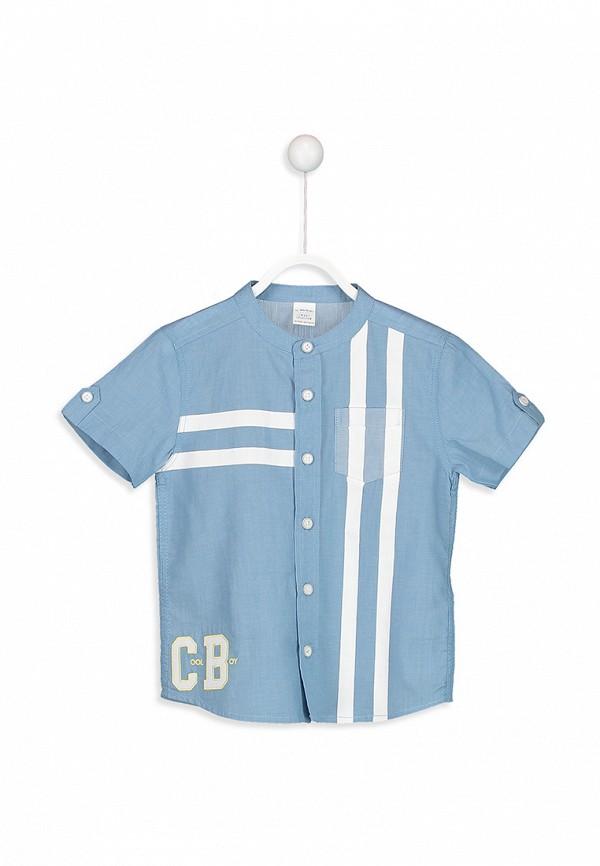 Рубашка для мальчика джинсовая LC Waikiki цвет синий