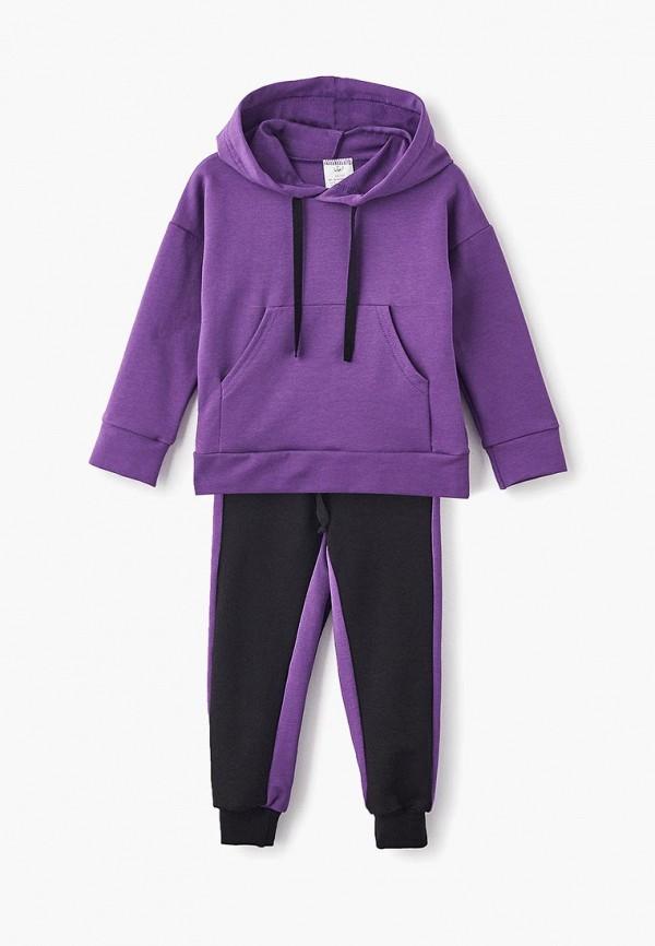 спортивные спортивный костюм archyland для мальчика, фиолетовый