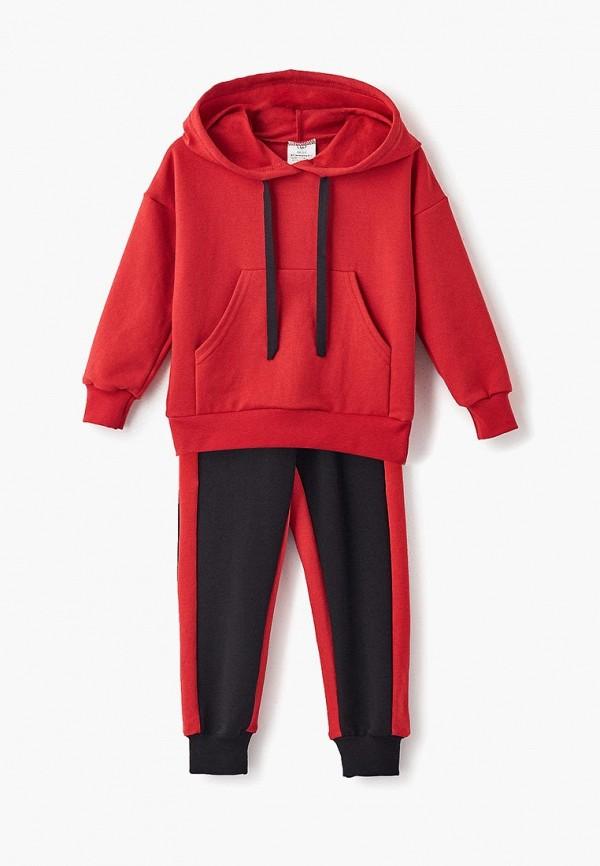 спортивные спортивный костюм archyland для мальчика, красный