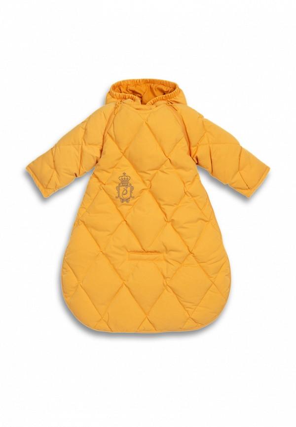 Конверт для новорожденного Ёмаё цвет желтый