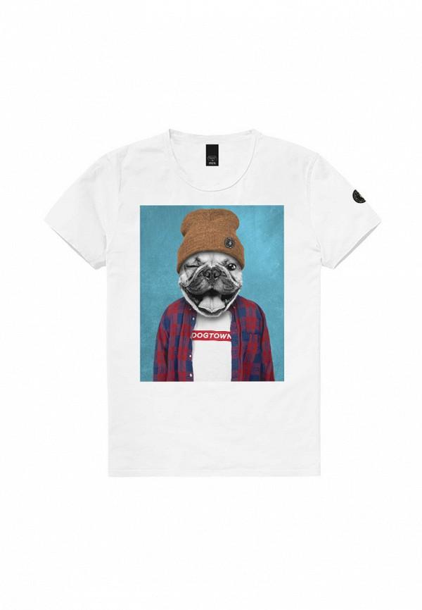 футболка с коротким рукавом le temps des cerises для мальчика, белая