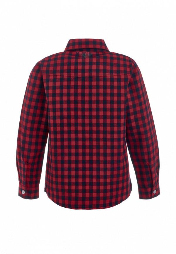 Рубашка для мальчика Moon River цвет бордовый  Фото 2