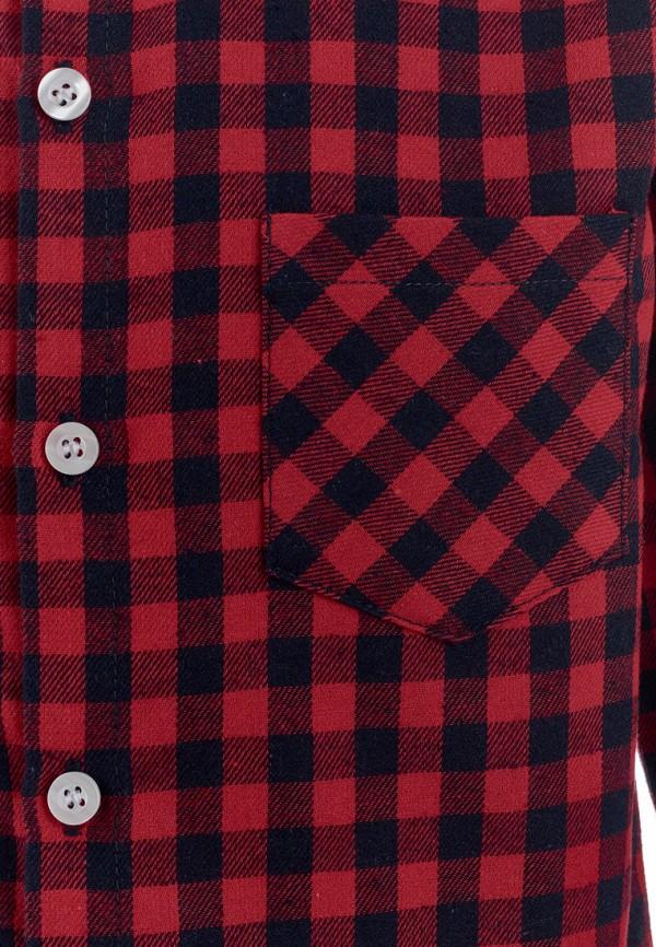 Рубашка для мальчика Moon River цвет бордовый  Фото 3