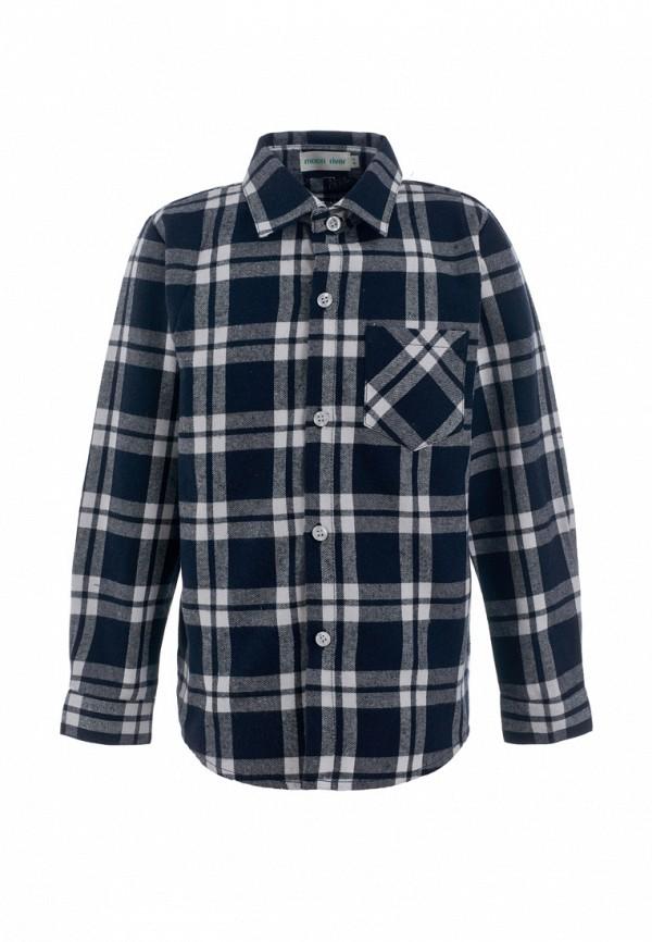 рубашка moon river для мальчика, синяя