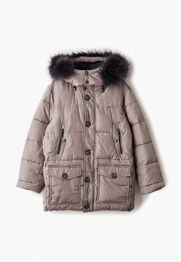 куртка mes ami для мальчика, бежевая