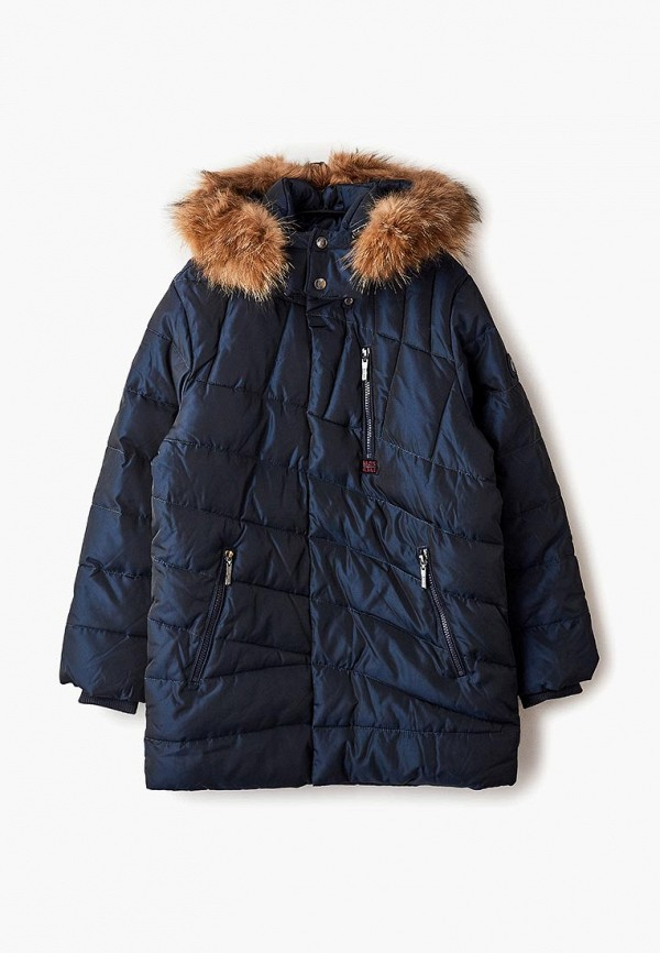 куртка mes ami для мальчика, синяя