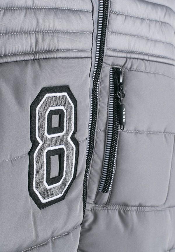 Куртка для мальчика утепленная Coccodrillo цвет серый  Фото 3
