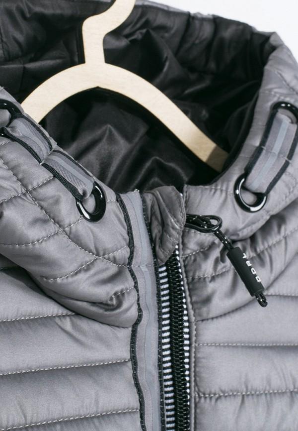 Куртка для мальчика утепленная Coccodrillo цвет серый  Фото 4