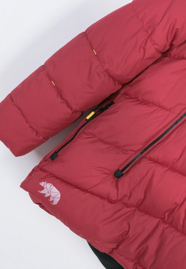 Куртка для мальчика утепленная Coccodrillo цвет красный  Фото 4