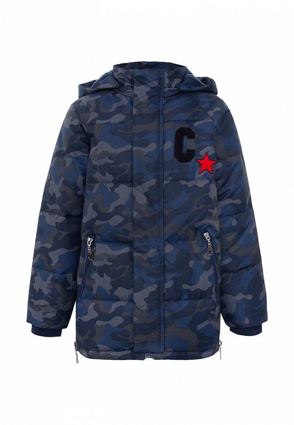 Куртка для мальчика утепленная Смена цвет синий
