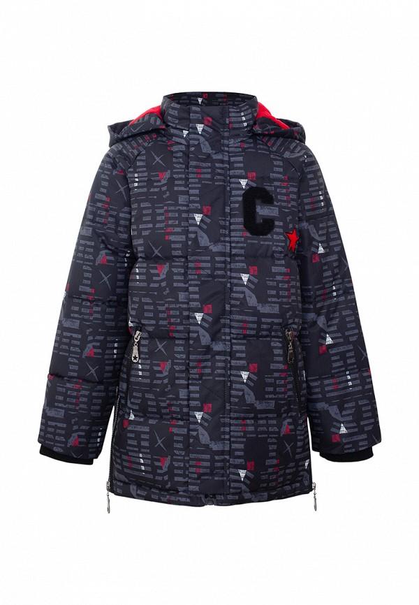 Куртка для мальчика утепленная Смена цвет черный