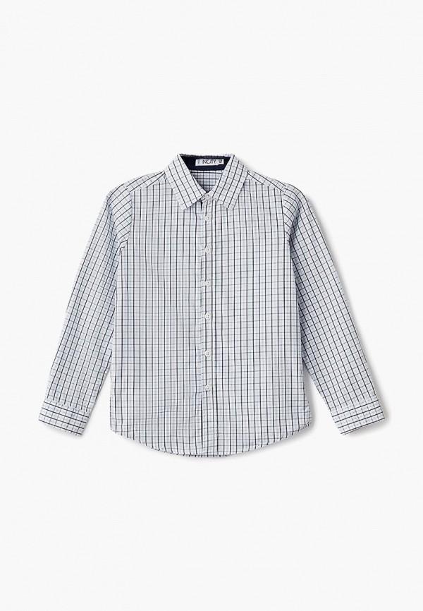 рубашка incity для мальчика, белая