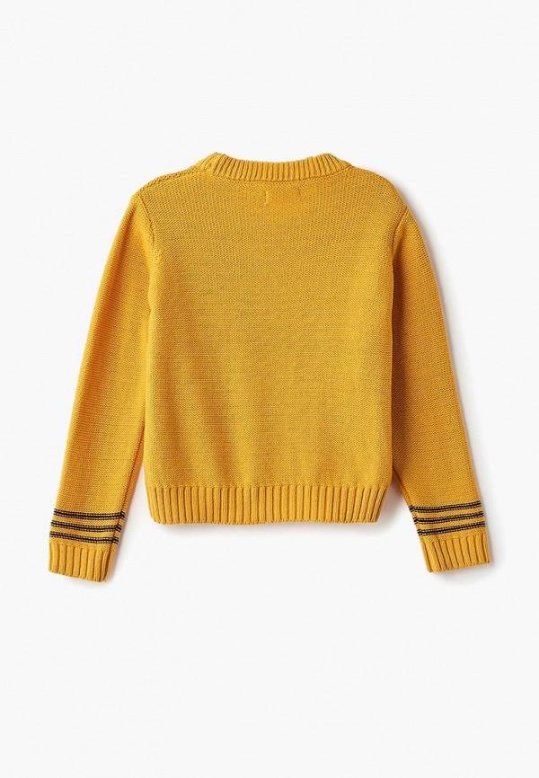 Джемпер для мальчика Incity цвет желтый  Фото 2