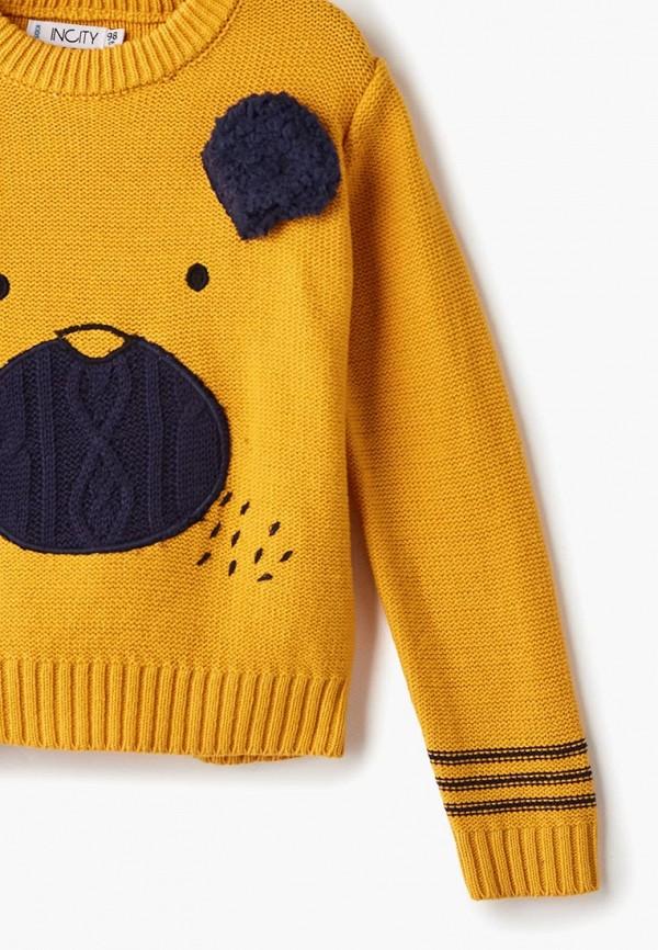 Джемпер для мальчика Incity цвет желтый  Фото 3