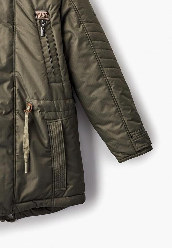 Куртка для мальчика Alpex цвет хаки  Фото 3