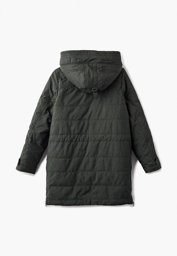 Куртка для мальчика утепленная Alpex цвет зеленый  Фото 2