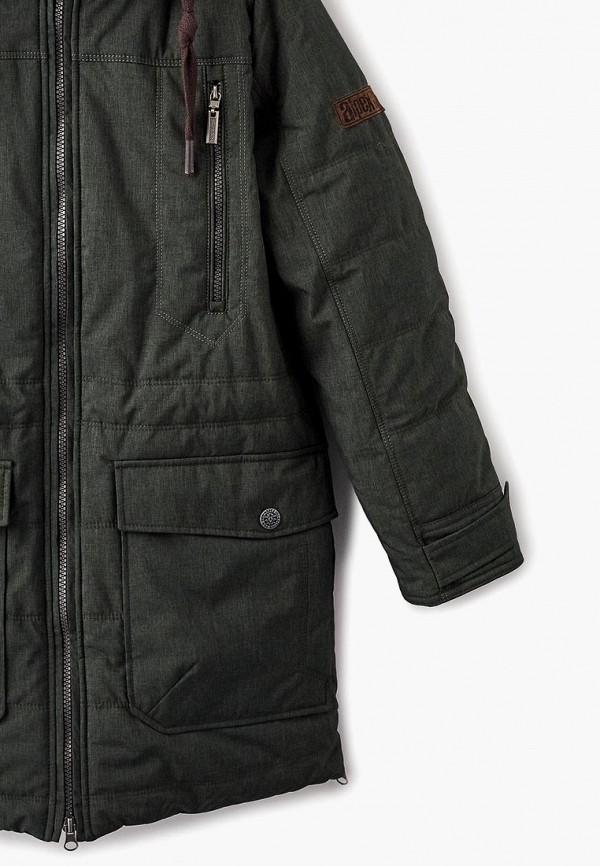 Куртка для мальчика утепленная Alpex цвет зеленый  Фото 3
