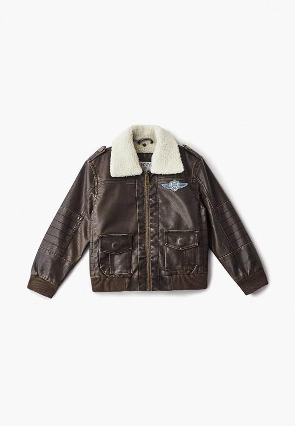 Куртка для мальчика Incity цвет коричневый