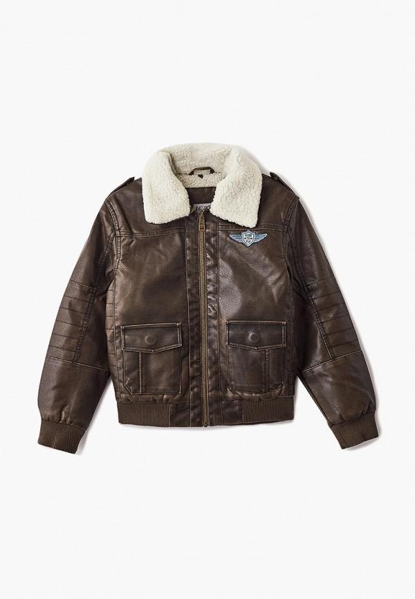 Купить Куртка кожаная Incity, MP002XB008RX, коричневый, Осень-зима 2018/2019