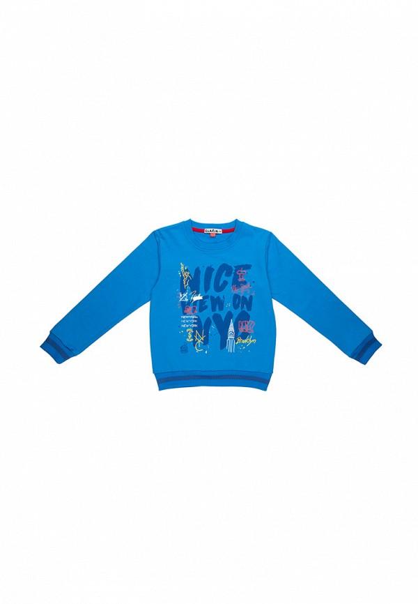 свитшот elaria для мальчика, голубой