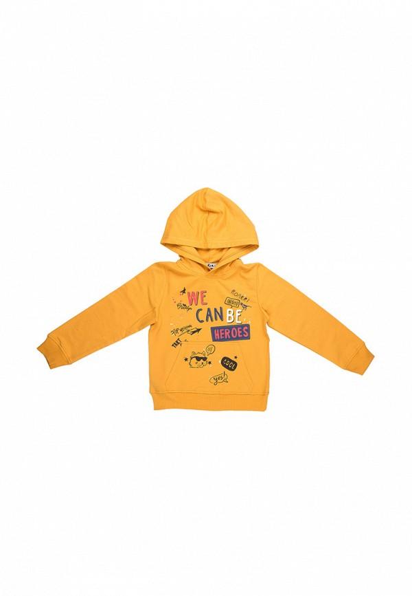 худи elaria для мальчика, желтые