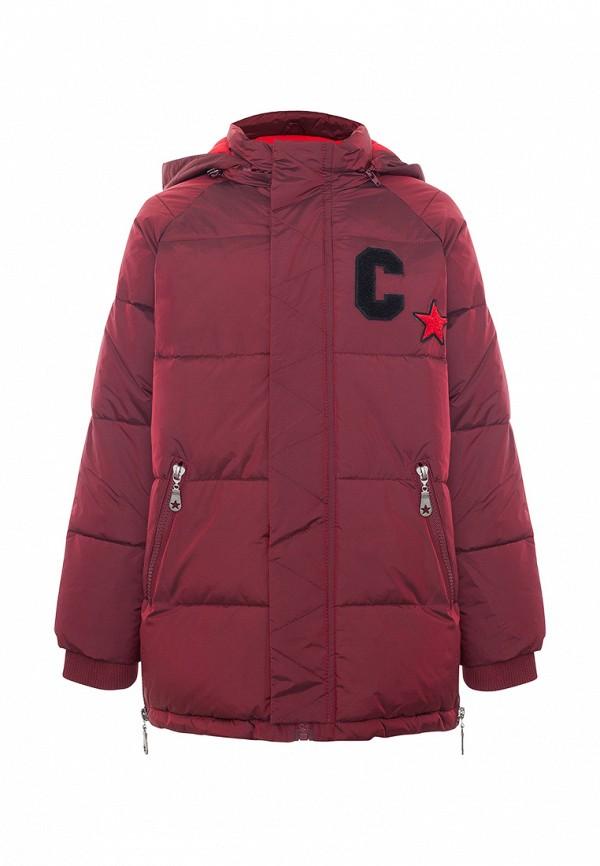 куртка смена для мальчика, бордовая