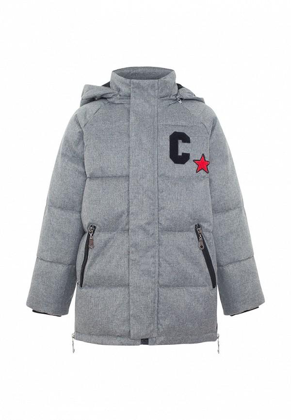 куртка смена для мальчика, серая