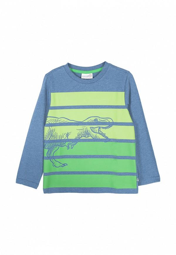 Лонгслив для мальчика Coccodrillo цвет синий