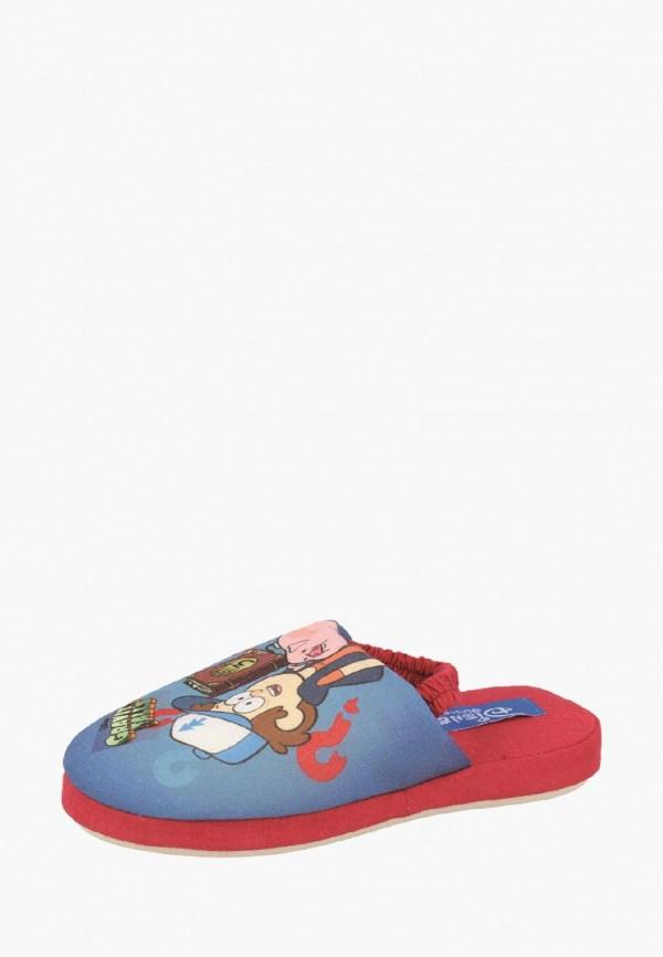 тапочки de fonseca для мальчика, синие