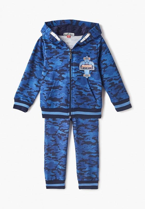 спортивные спортивный костюм elaria для мальчика, синий