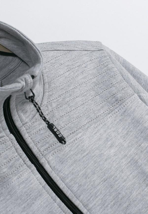 Олимпийка Coccodrillo цвет серый  Фото 3