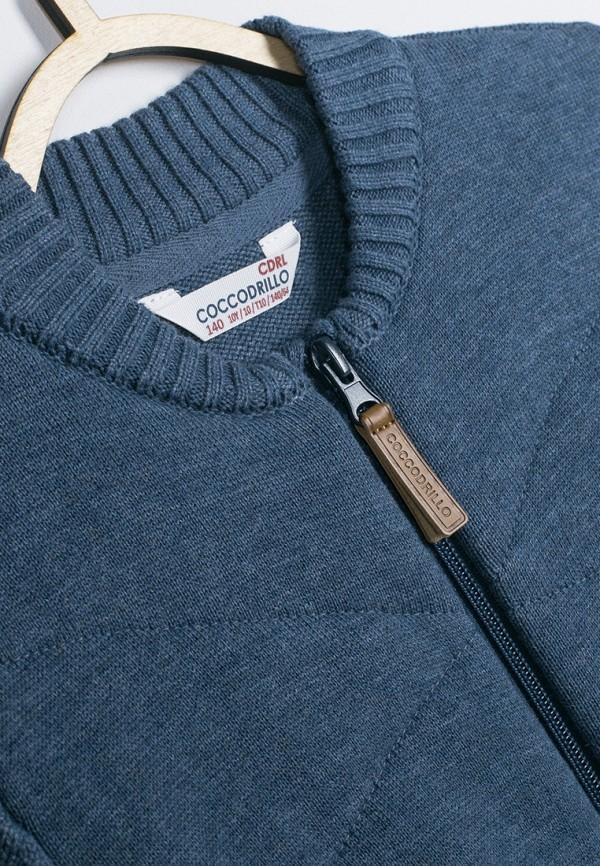 Кардиган для мальчика Coccodrillo цвет синий  Фото 3