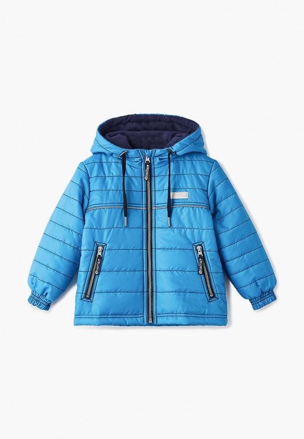 куртка saima для мальчика, голубая