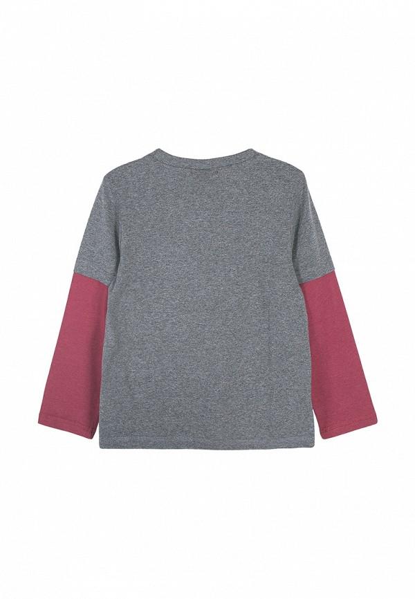 Лонгслив для мальчика Coccodrillo цвет серый  Фото 2