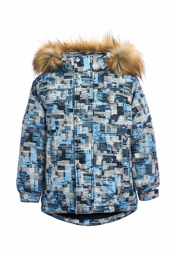 куртка kisu для мальчика, голубая