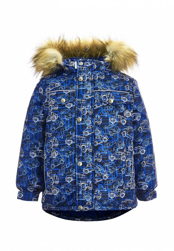 куртка kisu для мальчика, синяя