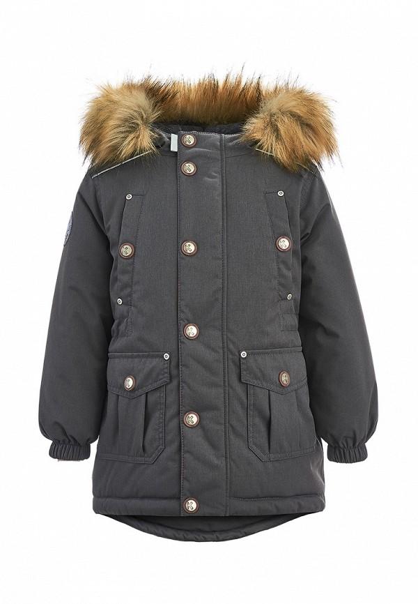 куртка kisu для мальчика, серая