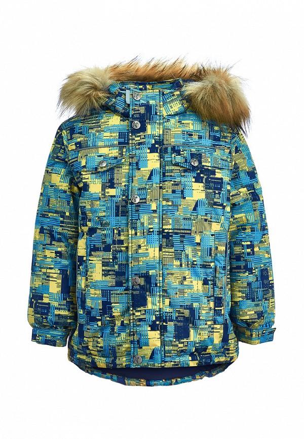 куртка kisu для мальчика, разноцветная