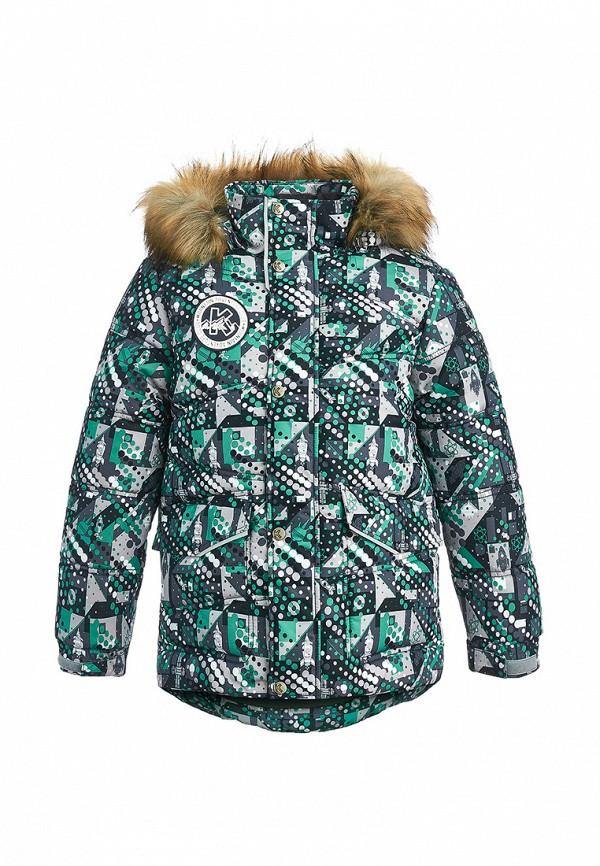 куртка kisu для мальчика, бирюзовая