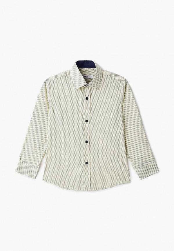 Купить Рубашка MiLi, желтый, boys, Весна-лето 2019, Рубашки