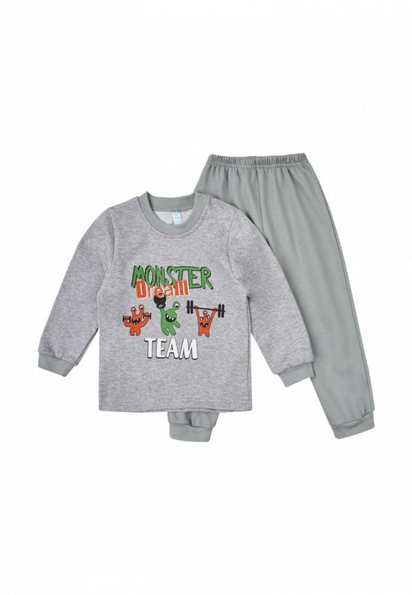 пижама габби для мальчика, серая