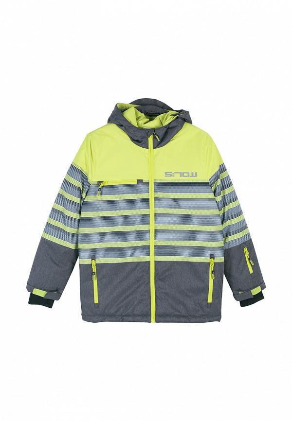 куртка coccodrillo для мальчика, зеленая
