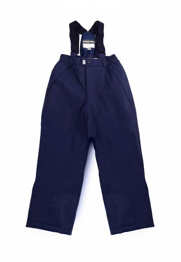 Брюки утепленные PlayToday PlayToday MP002XB0099H playtoday playtoday брюки для мальчика  голубые