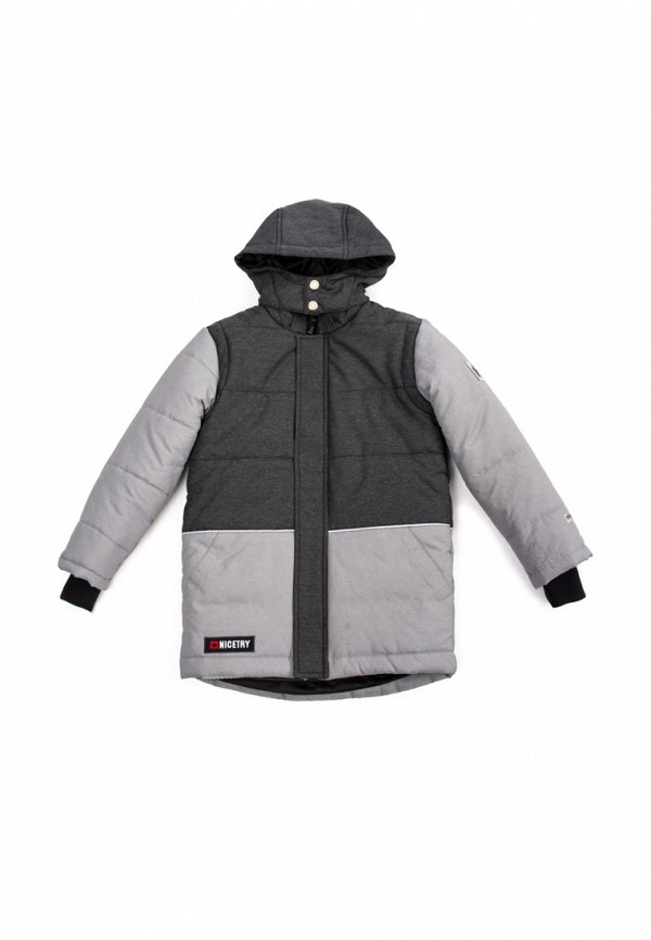 Куртка утепленная PlayToday PlayToday MP002XB0099K playtoday 180гр серый в клетку