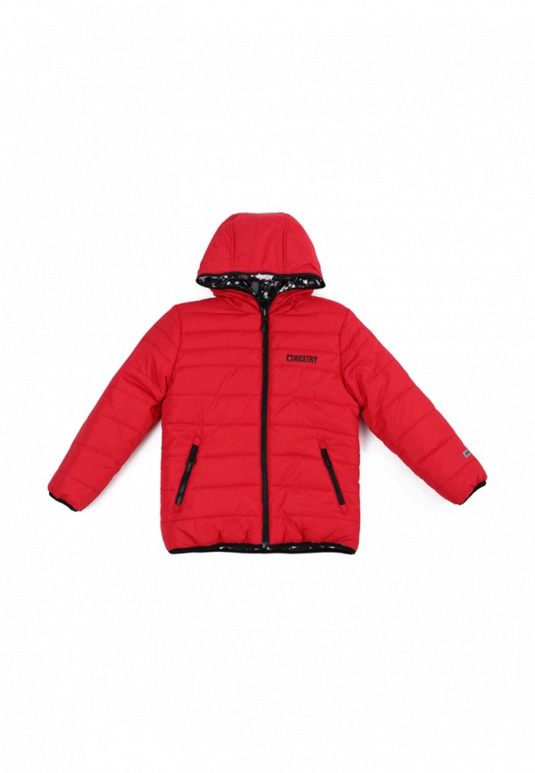 куртка playtoday для мальчика, красная