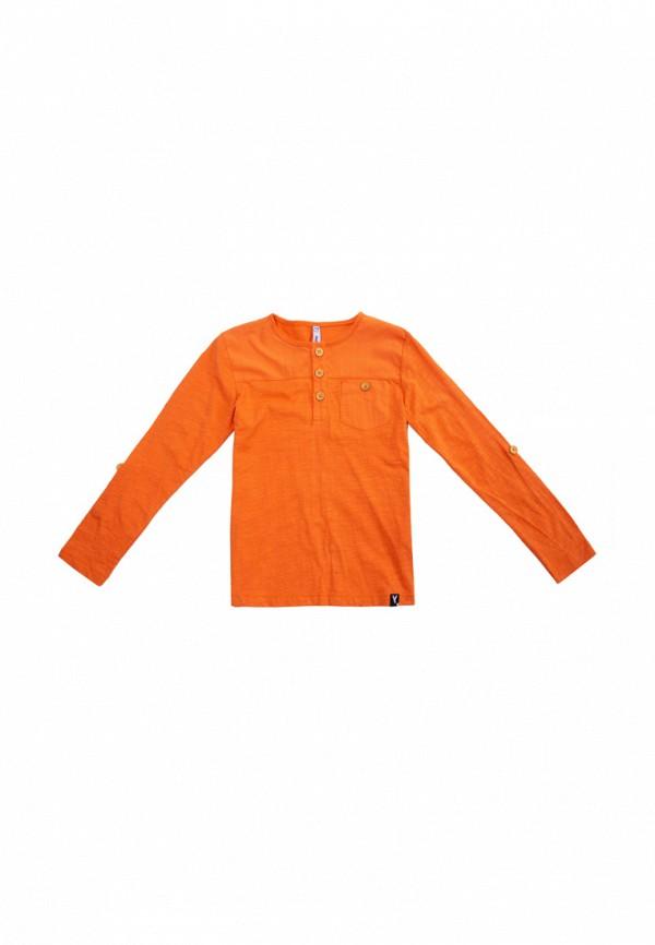 лонгслив playtoday для мальчика, оранжевый
