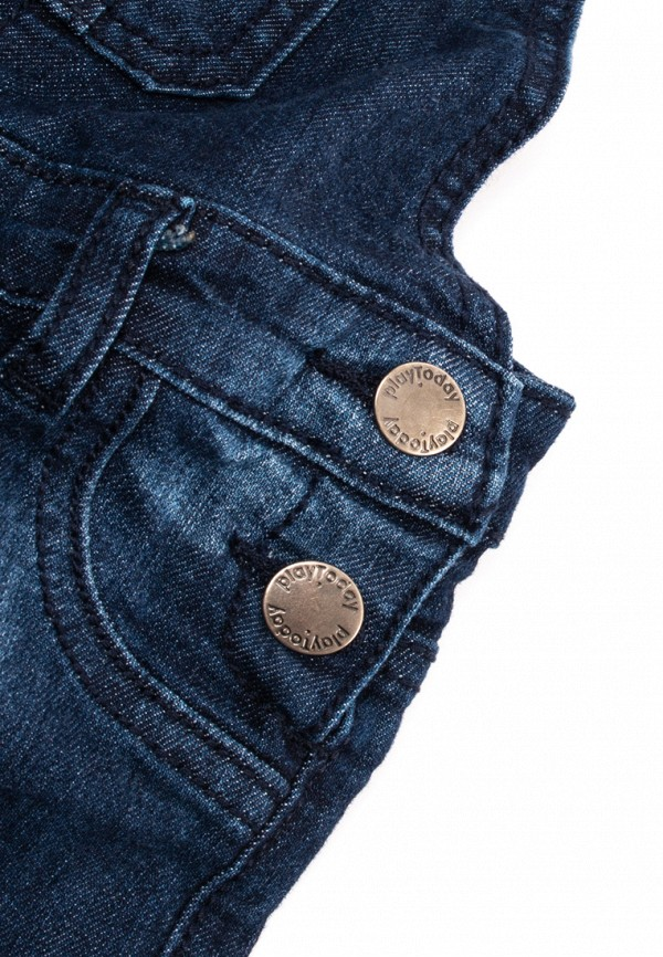 Детский комбинезон джинсовый PlayToday цвет синий  Фото 3