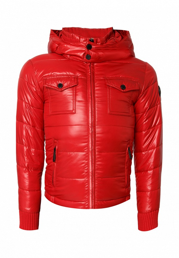куртка finn flare для мальчика, красная