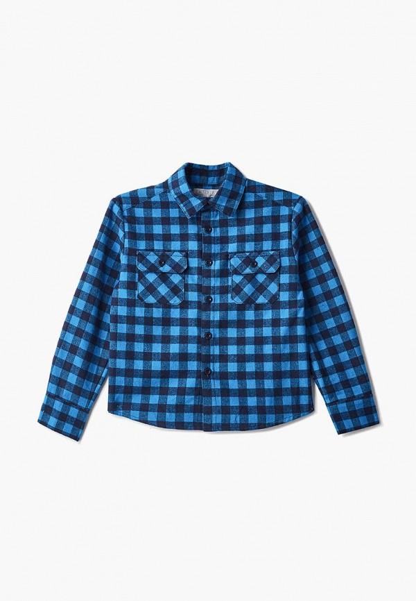 рубашка смена для мальчика, синяя